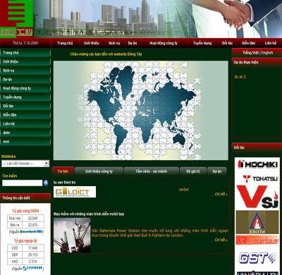 Công ty Cổ phần xây dựng- Tin học Đông Tây