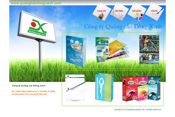 Công ty Quảng cáo Đồng Xanh