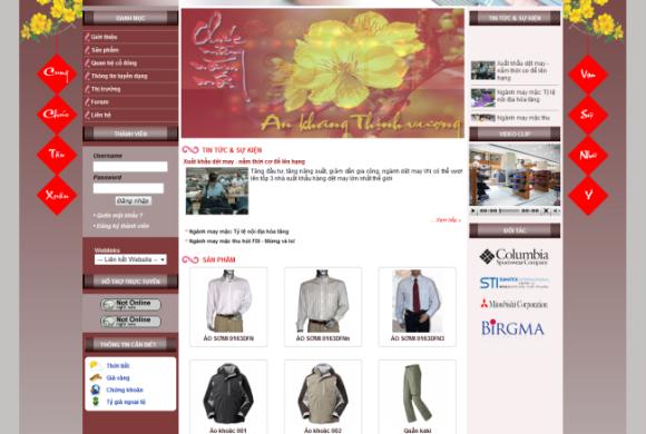 Công ty CP May Hữu Nghị – Hugamex