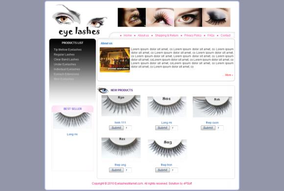 Eyelashes Vietnam Market
