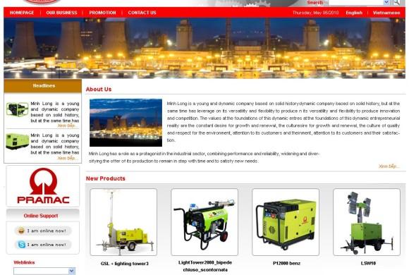 Minh Long – Nhà phân phối máy phát điện