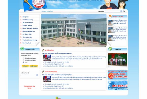 Trường THPT Bà Rịa – tỉnh BRVT