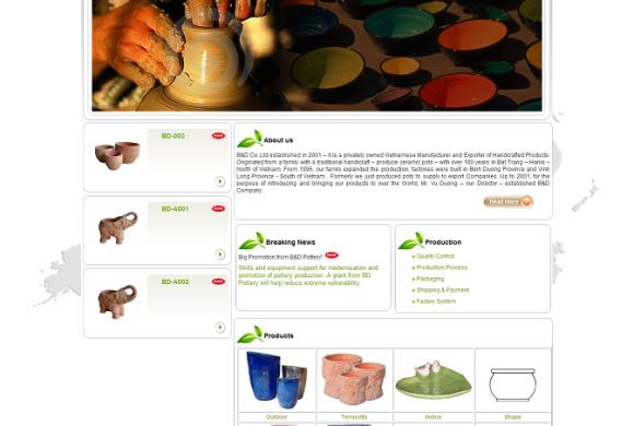 Vietnam Art Pottery