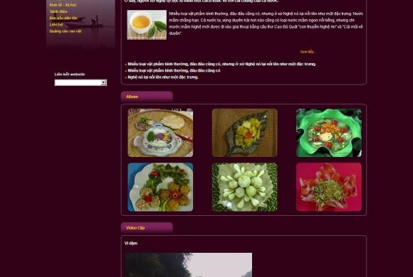 Website Xứ nghệ