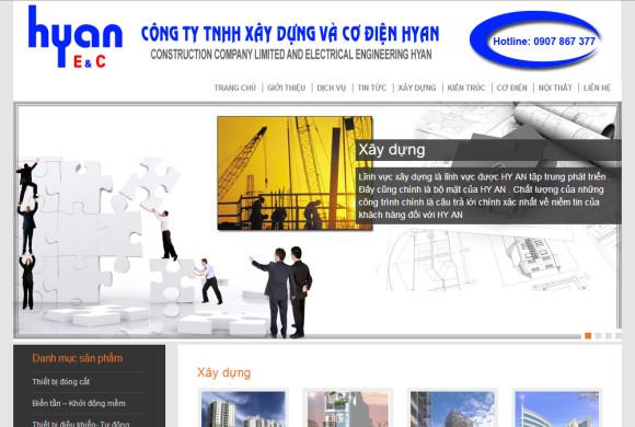 Công ty xây dựng Hyan